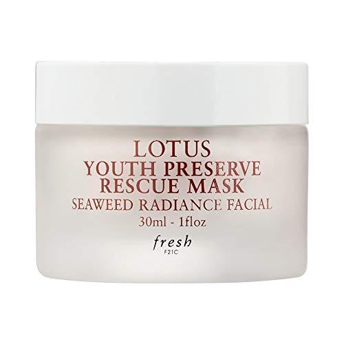 Fresh - Fresh Lotus Youth Preserve Rescue Mask Seaweed Radiance Facial 1 fl oz / 30 ml