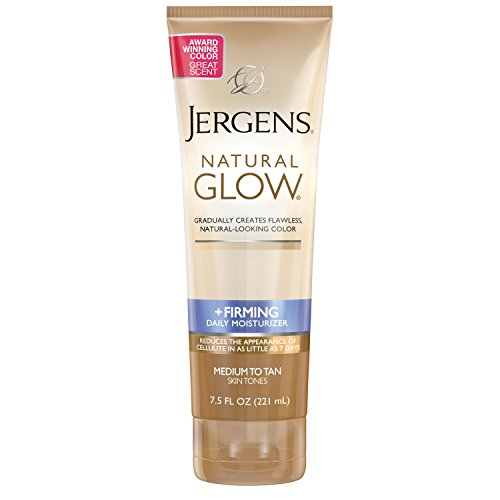 Jergens - Jergens Natural Glow + Firming Daily Moisturizer Medium to Tan Skin Tones 7.5oz