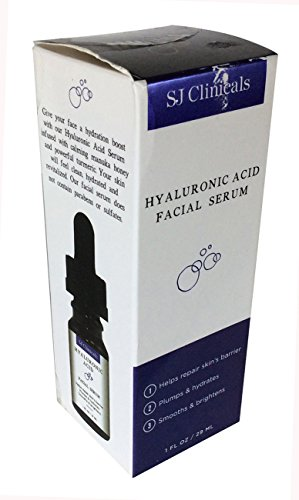 SJ Clinicals - Hyaluronic Acid Facial Serum