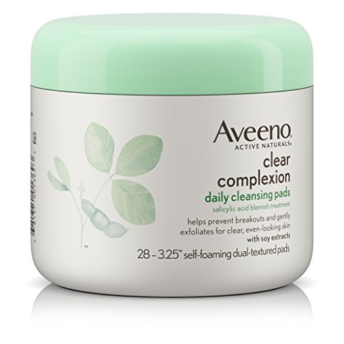 Aveeno - Clear Complexion Daily Facial Cleansing Pads With Salicylic Acid