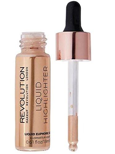 Makeup Revolution Liquid Highlighter, Euphoric Gold