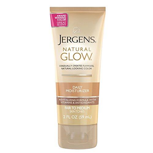 Jergens - Jergens Natural Glow Daily Moisturizer for Body, Fair to Medium Skin Tones, 2 Ounces (5-Pack)