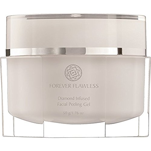 Forever Flawless - Forever Flawless Facial Peeling Gel with 100% Natural White Diamond Infused Powder. Best Exfoliator, Microdermabrasion and Acne. Leaves a Nice, Smooth Finish, Especially on sensitive Skin 1.76 Oz