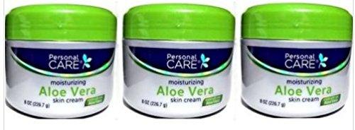 personal care - Lot of 3 Jars Personal Care Moisturizing Aloe Vera Skin Cream 8 oz/each jar