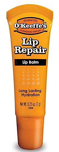 O'Keeffe's - O'Keeffe's Unscented Lip Repair Lip Balm for Dry, Cracked Lips, Tube