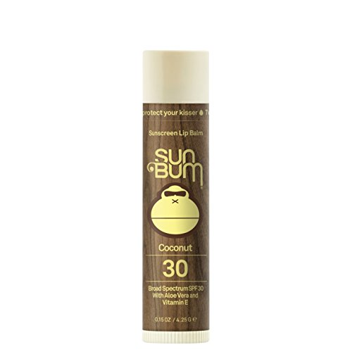 Sun Bum - Sun Bum Coconut Sunscreen Lip Balm, SPF 30, 0.15 oz  Stick, 1 Count, Broad Spectrum UVA/UVB Protection, Hypoallergenic, Paraben Free, Gluten Free, Vegan