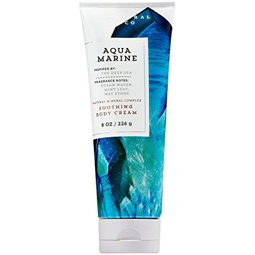 Bath & Body Works - Bath and Body Works Aqua Marine Soothing Body Cream 8 Ounce