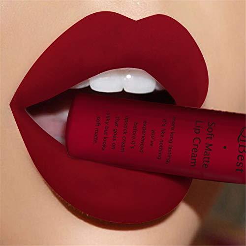 CHUNDSL - Beauty Makup Pigment Waterproof Lipgloss Long Lasting Black Velvet Matte Nude Lipstick Red Lip Gloss Lot 22