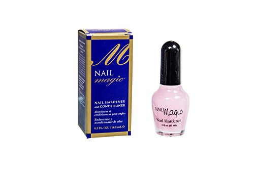 Nail Magic - Nail Magic Fingernail Hardener & Conditioner 0.5 fl oz, Stronger & Healthier Nails in Only 60 Days - You can Trust it to Keep Your Nails Looking Great! Trusted since 1960