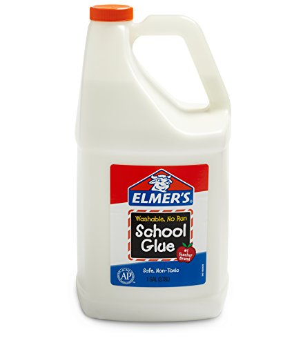 Elmer's - Elmer's Liquid School Glue, Washable, 1 Gallon, 1 Count - Great For Making Slime