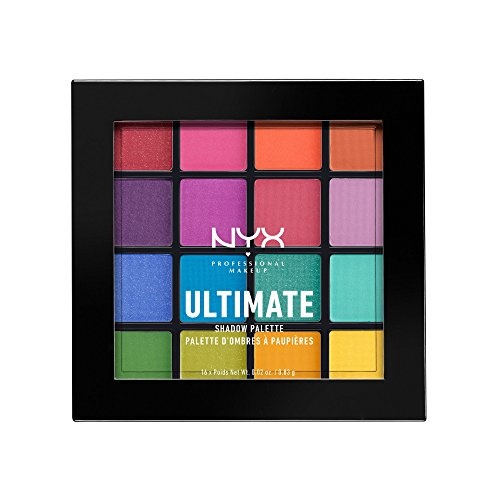 NYX - Ultimate Shadow Palette, Brights