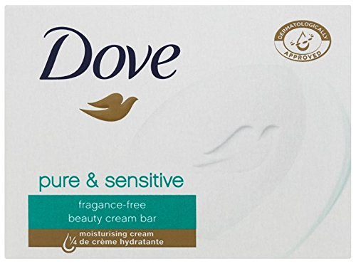 Dove - Dove Sensitive Skin Beauty Bar Unscented, 100 G / 3.5 Oz (Pack of 12)