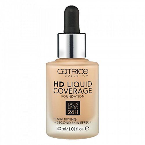 Catrice - HD Liquid Foundation - High & Natural Coverage