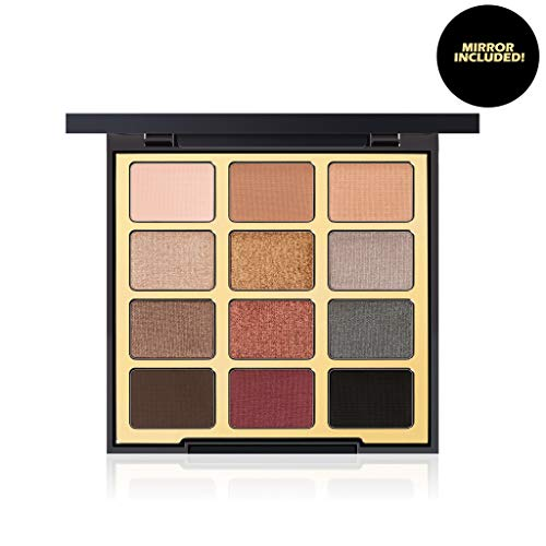 Milani - Milani Bold Obsessions Eyeshadow Palette (.48 Ounce) 12 Cruelty-Free Jewel-Tone Matte & Metallic Eyeshadow Colors for Long-Lasting Wear