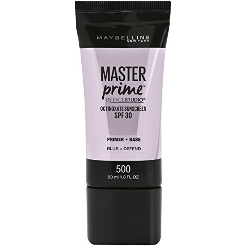Maybelline New York - Maybelline Facestudio Master Prime Primer Makeup, Blur+ Defend, 1 fl. oz.