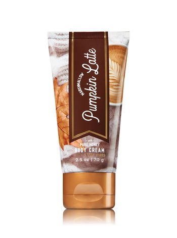 Bath & Body Works - Body Cream With Pure Honey Marshmallow Pumpkin Latte