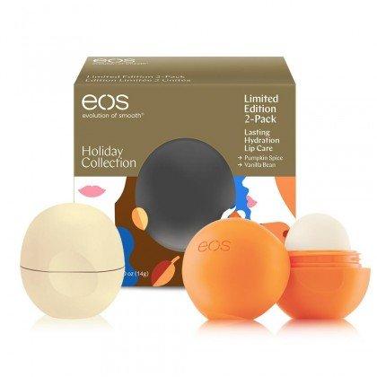 EOS - Vanilla Bean and Natural Pumpkin Spice Lip Balms