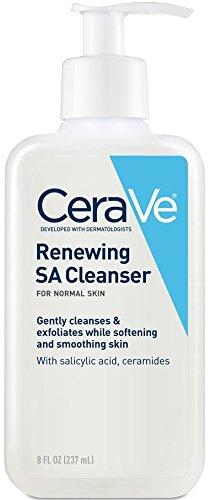 CeraVe - CeraVe Renewing SA Cleanser 8 oz Salicylic Acid Body Cleanser Normal Skin