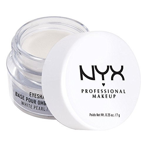 NYX PROFESSIONAL MAKEUP - NYX Professional Makeup Eyeshadow Base, White Pearl, 0.25 Ounce