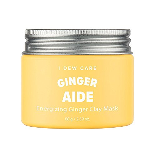 I DEW CARE - I Dew Care Magic Clay Mud Mask #GINGER AIDE(Energizing Ginger) 2.46 Ounces, Yellow jelly clay masks, Cleanse pores, Hydrate skin, Brightens dull skin, Facial healing mask, Clay mask for face
