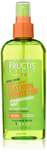 Garnier Garnier Fructis Style Sleek & Shine Flat Iron Perfector Straightening Mist 48 Hour Finish, 6 Fl Oz