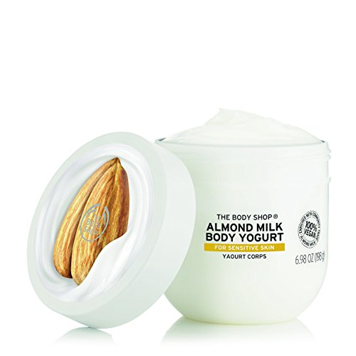 The Body Shop - Almond Milk Body Yogurt, 48hr Moisturizer, for Sensitive and Dry Skin