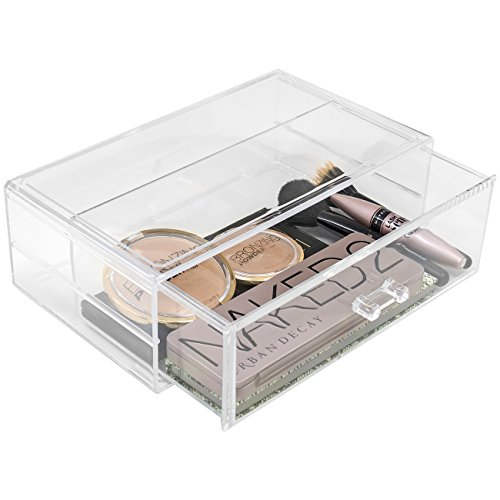 Sorbus - Sorbus Acrylic Cosmetics Makeup and Jewelry Storage Case Display Sets –Interlocking Drawers to Create Your Own Specially Designed Makeup Counter –Stackable and Interchangeable