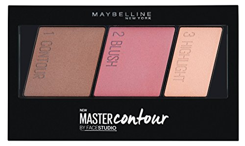 Maybelline - Maybelline Facestudio Master Contour Face Contouring Kit, Medium to Deep, 0.17 Ounce