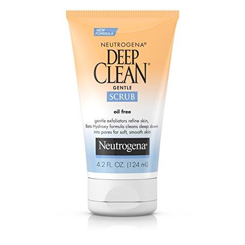Neutrogena - Neutrogena Deep Clean Gentle Daily Facial Scrub, Oil-Free Cleanser 4.2 fl. Oz