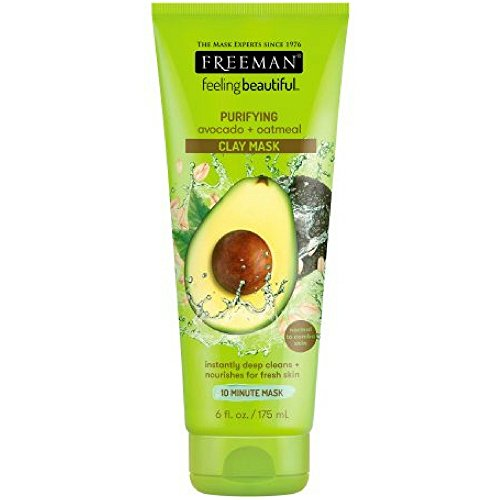 Freeman - Facial Clay Masque Avocado and Oatmeal
