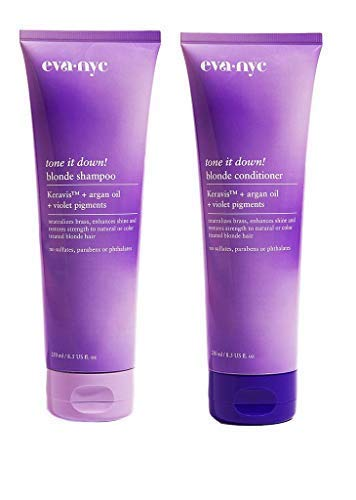 Eva NYC - Tone It Down! Blonde Hair Shampoo & Conditioner Set