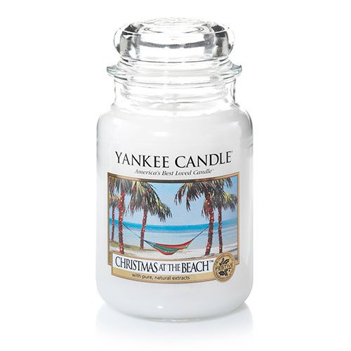 Yankee Candle - Yankee Candle Christmas at The Beach Large Jar Candle, Fresh Scent