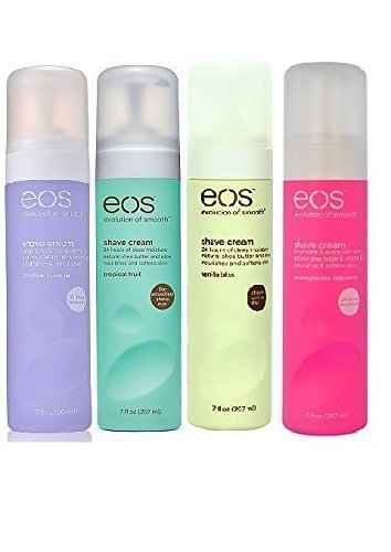EOS - EOS Ultra Moisturizing Shave Cream, Pack of Four Flavours