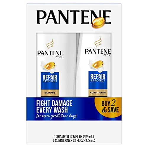 Pantene - Pantene Pro-V Repair & Protect Shampoo and Conditioner Bundle (Packaging May Vary)