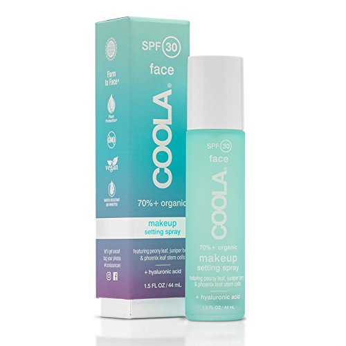 Coola Suncare Green Tea and Aloe Makeup Setting Spray SPF 30