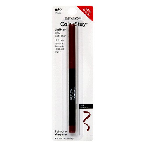 Revlon Revlon ColorStay Lipliner with SoftFlex, Mauve 660, 0.01 Ounce