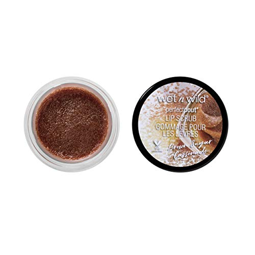 wet n wild - Wet N Wild Perfect Pout Lip Scrub, Brown Sugar Cassonade, 0.35 Ounce