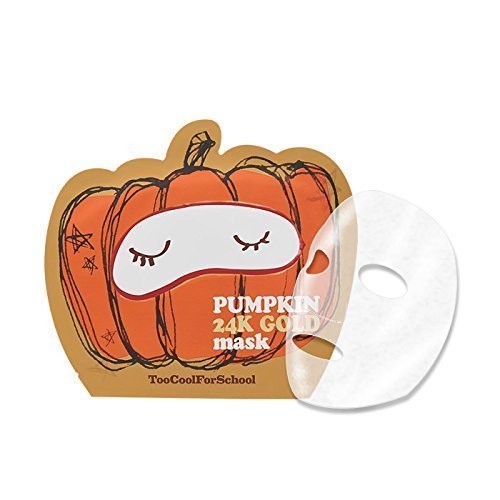 Too Cool for School - Pumkin 24k Gold Mask