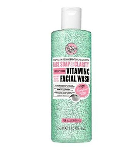 Soap & Glory - Clarity 3-In-1 Daily Detox Vitamin C Facial Wash