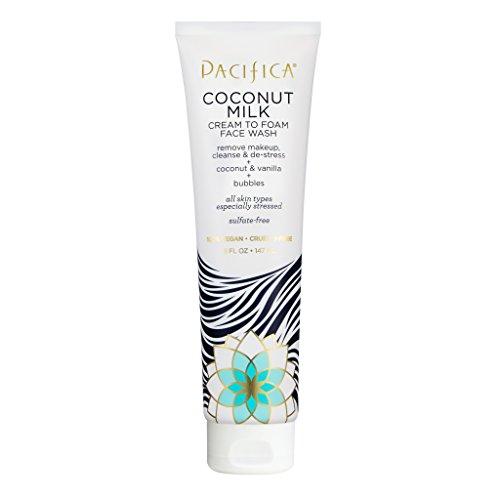 Pacifica - Pacifica Beauty Coconut Milk Cream to Foam Face Wash, 5 Fluid Ounce