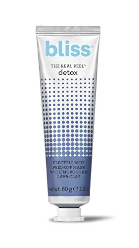 Bliss The Real Peel, Electric Blue Peel-Off Face Mask