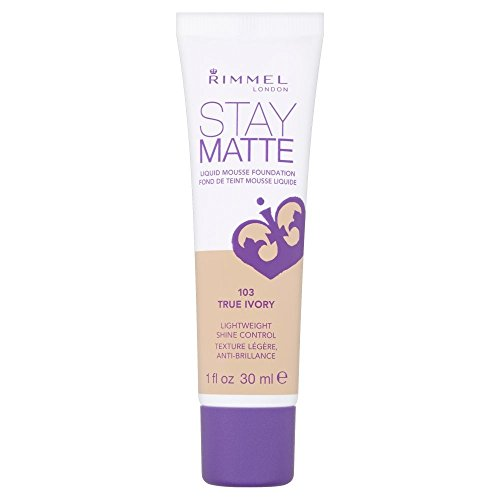 Rimmel - 2 x Rimmel London Stay Matte Liquid Mousse Foundation 30ml - 103 True Ivory