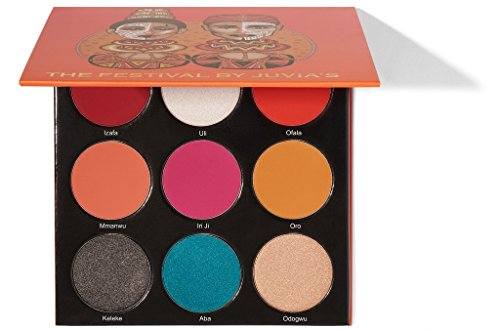 Juvia 's Place The Festival Eyeshadow Palette by Juvia's