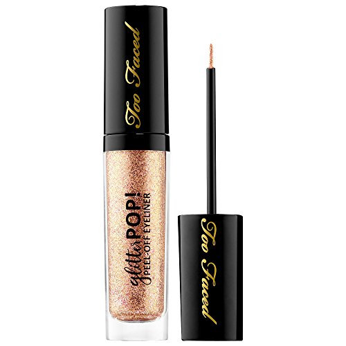 Too Faced - TOO FACED Glitter POP! Peel-Off Eyeliner - Yes Way Rose - rose gold glitter