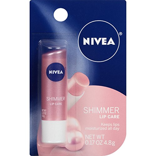 Nivea - NIVEA Shimmer Lip Care 0.17 Ounce Carded Pack (Pack of 6)