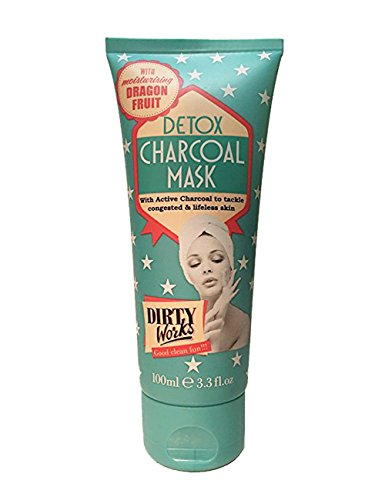 Dirty Works - Detox Charcoal Mask with moisturizing Dragon Fruit