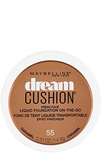 Maybelline New York - Maybelline New York Dream Cushion Fresh Face Liquid Foundation, Caramel, 0.51 Fluid Ounce