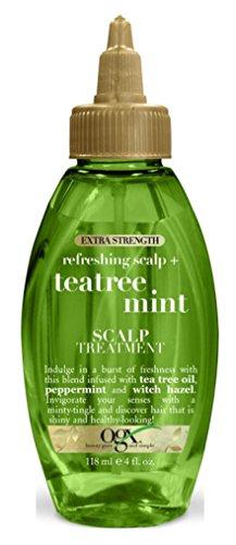 OGX - Ogx Tea Tree Mint Scalp Treatment Extra-Strength 4 Ounce (118ml) (2 Pack)