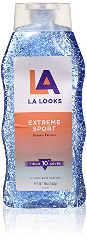LA Looks - Extreme Sport Alcohol-Free Hair Gel, Level 10 Hold