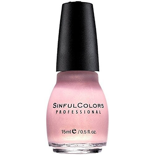 SinfulColors - Sinful Colors Professional Nail Polish Enamel, Glass Pink [376] 0.50 oz (Pack of 4)